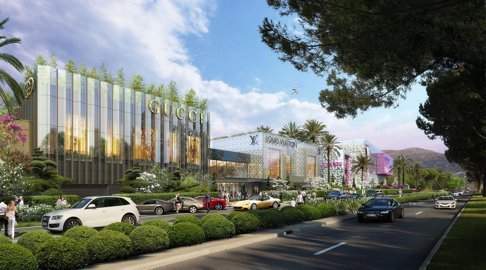 Image de communication - SOCRI - Centre commercial Hameau Saint-Jean à Cagnes-sur-Mer