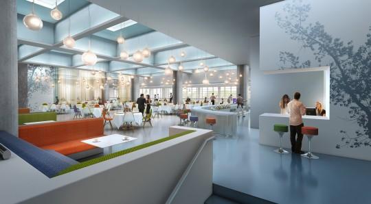 Image de communication - Agence VEZZONI & Associés - Architectes - Autogrill Aéroport de Marignane