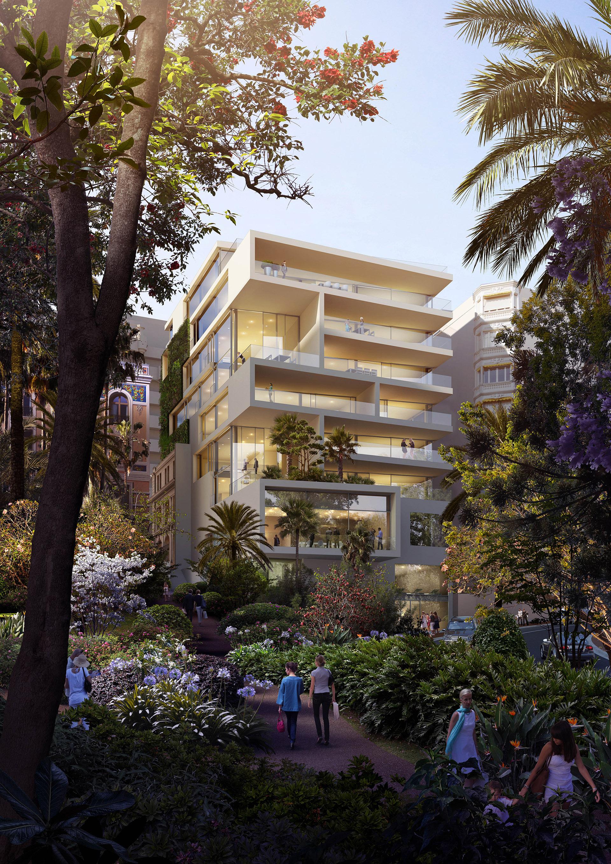 Perspective immobilière - Jean-Michel BATTESTI & Associés - Architectes - Logements à Monaco