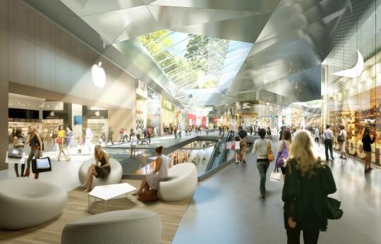 Image de communication - UNIBAIL - Promoteur - Centre commercial NEO - Bruxelles