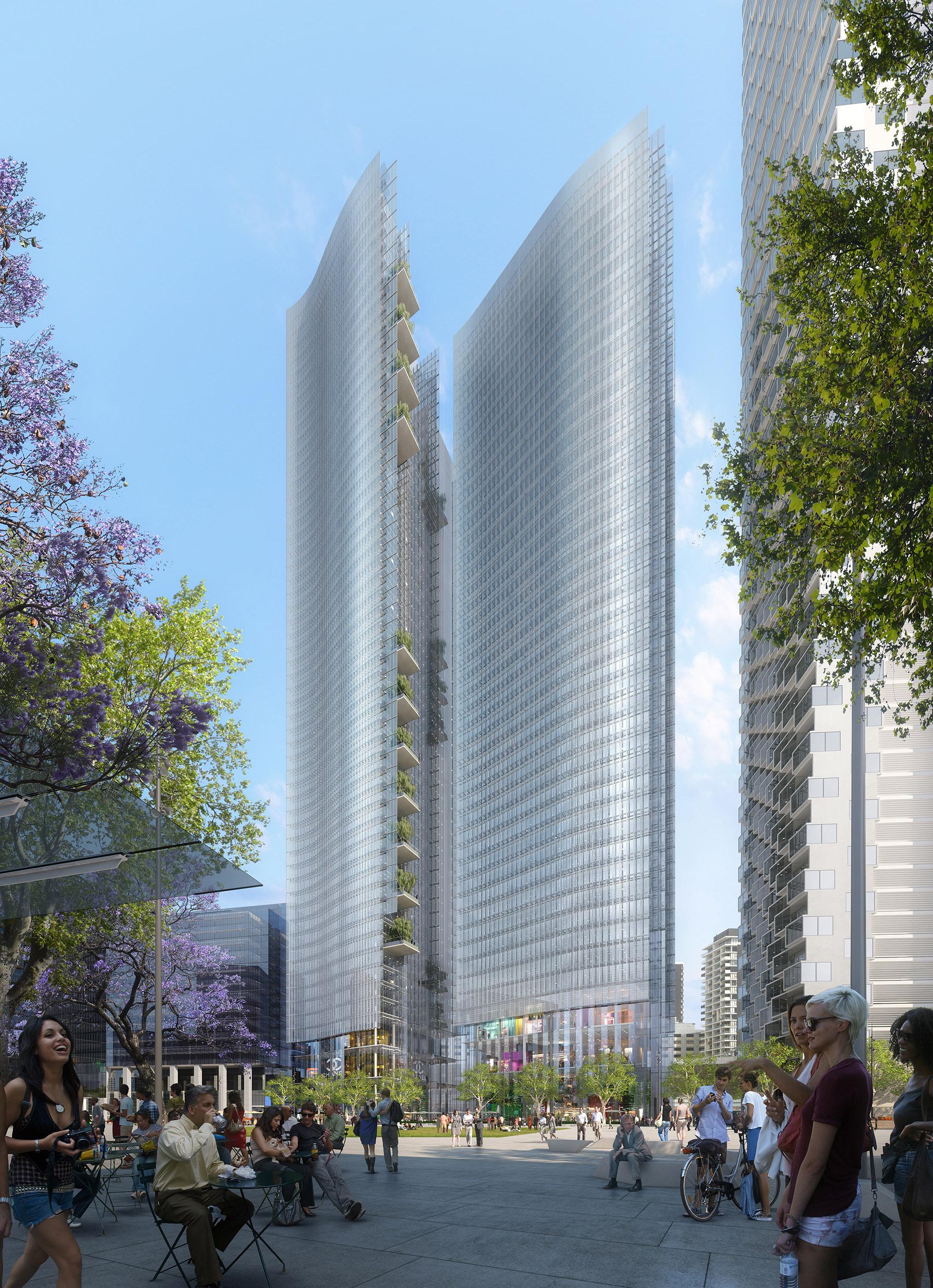 Perspective immobilère - DGLA SUD Architectes - Tour Parramatta à Sydney