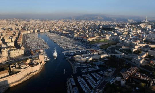Image de communciation - VILLE DE MARSEILLE - Communauté urbaine - Projet Pont transbordeur