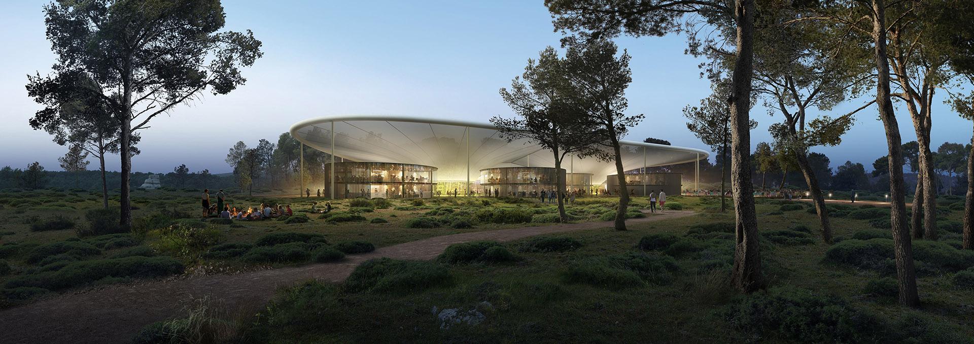 Image de communication - Agence VEZZONI & Associés - Architecte - Petit incubateur à l'Arbois