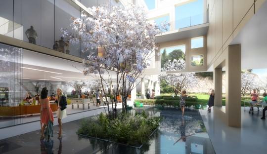 Perspective de concours - Agence VEZZONI & Associés - Architecte - Ecole de la photo à Arles (ENSP)