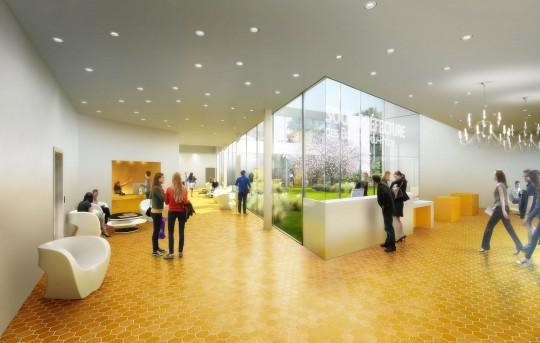 Perspective de concours - Agence VEZZONI & Associés - Architectes - Sous-Préfecture d'Aix-en-Provence