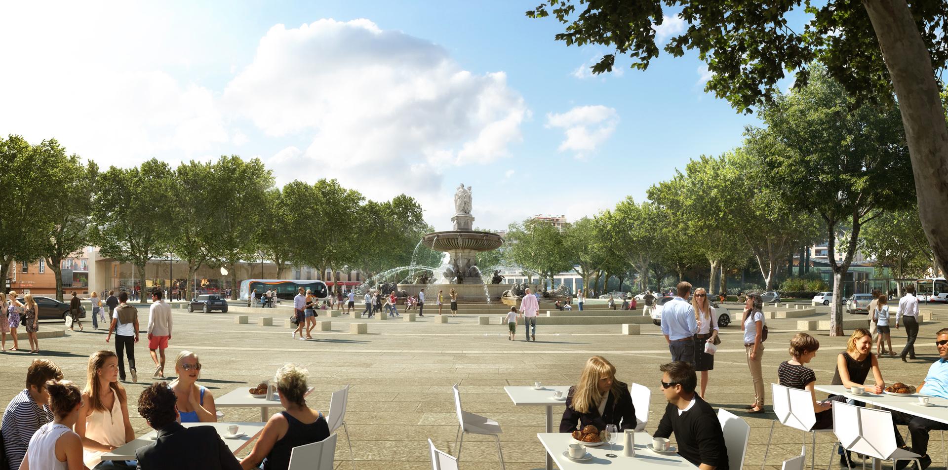Perspective de concours-GAUTIER+CONQUET-Architectes-TCSP Aix