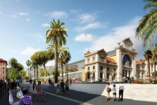 Image de communication_NCA_Métropole_Gare Sud Nice