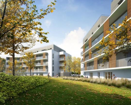 Perspective immobilière_RVA_52 logements Noisy le Grand