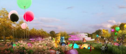 Perspective de concours-VEZZONI & associés_Architectes-Musée du bonbons Uzès