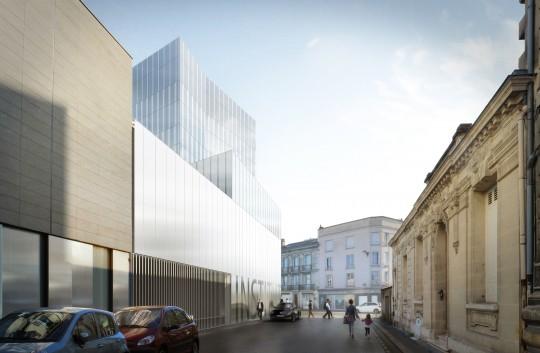 BRUNET SAUNIER ARCHITECTES-Pôle chirurgical Institut Bergonié Bordeaux-Perspectives de concours