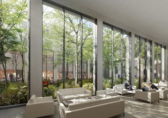 Battesti Associés-Restructuration Hôtel des Postes Colbert-Perspective de concours
