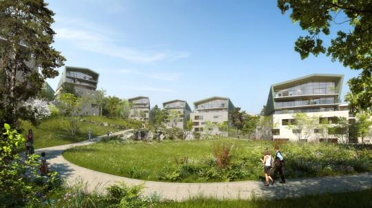 2PORTZAMPARC - CAI - Logements Annecy Trésums- Image Immobilière