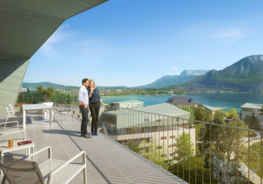 Crédit Agricole Immobilier - Logements Annecy Trésums- Image Immobilière