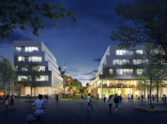 B. SAUNIER-Projet Saclay-VUE PARVIS NUIT_mdf2_FULL