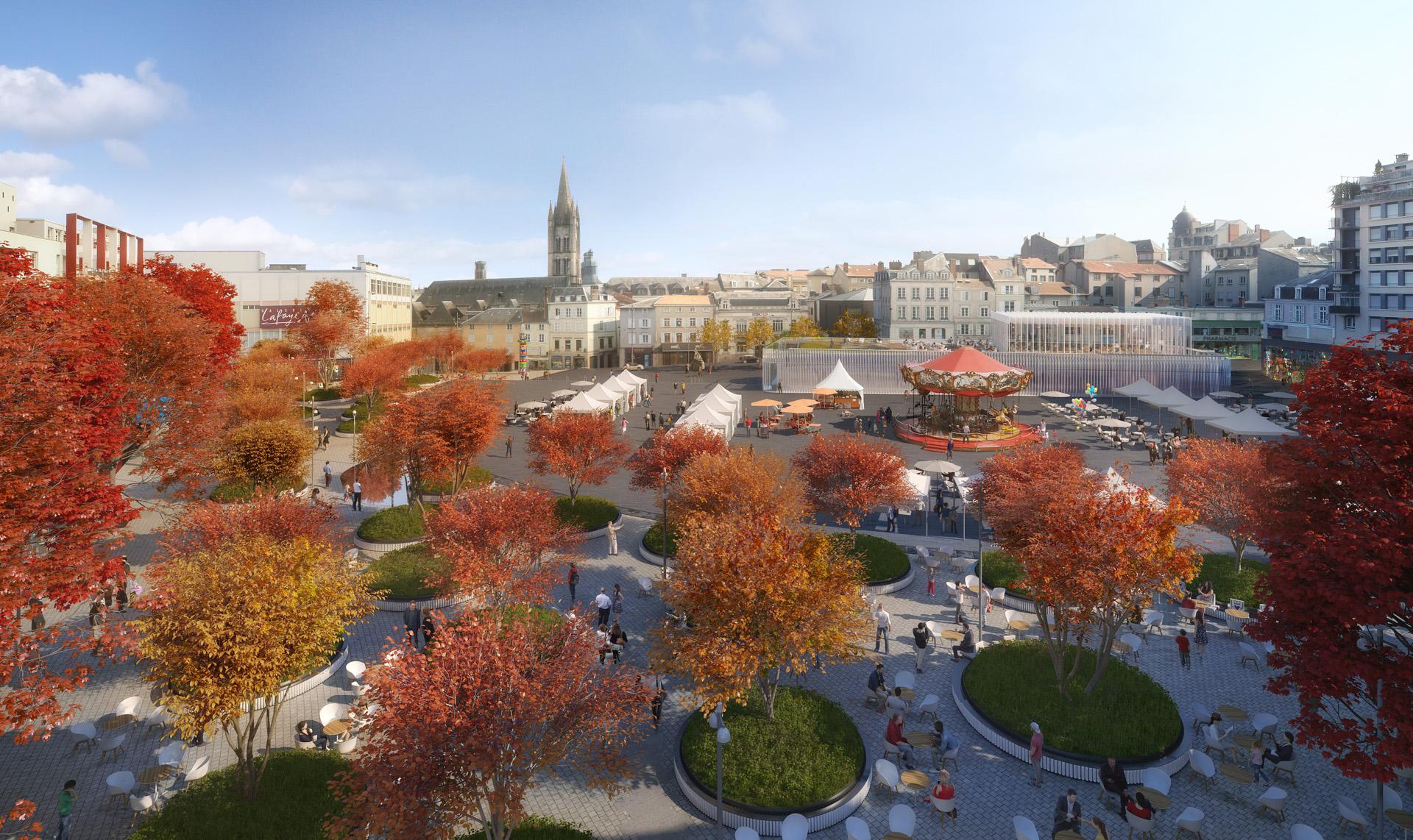 G+C-Place de la Republique Limoges-VUE01 AER_FULL