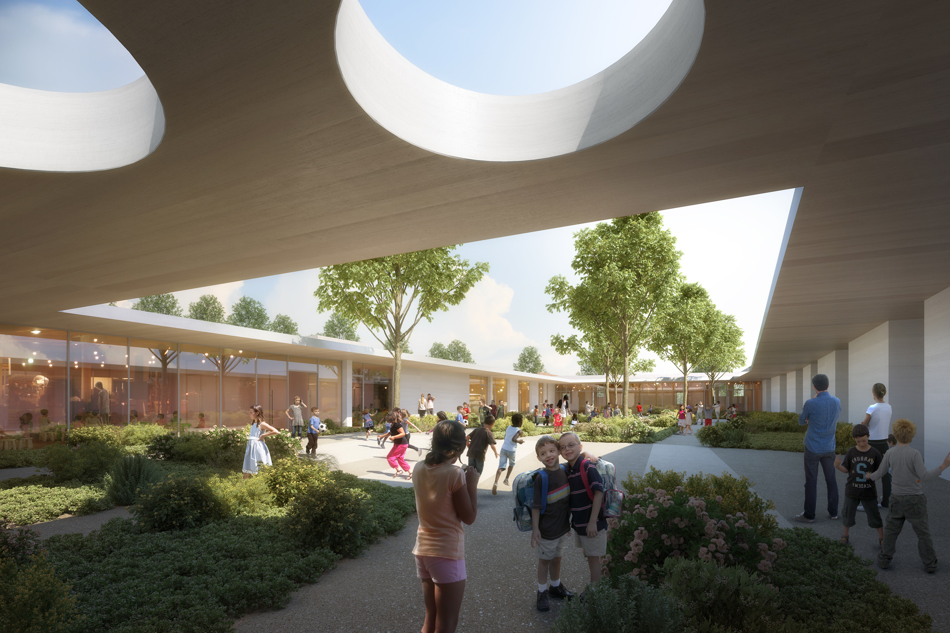 MDR-Groupe Scolaire Grabels-VUE COUR_full