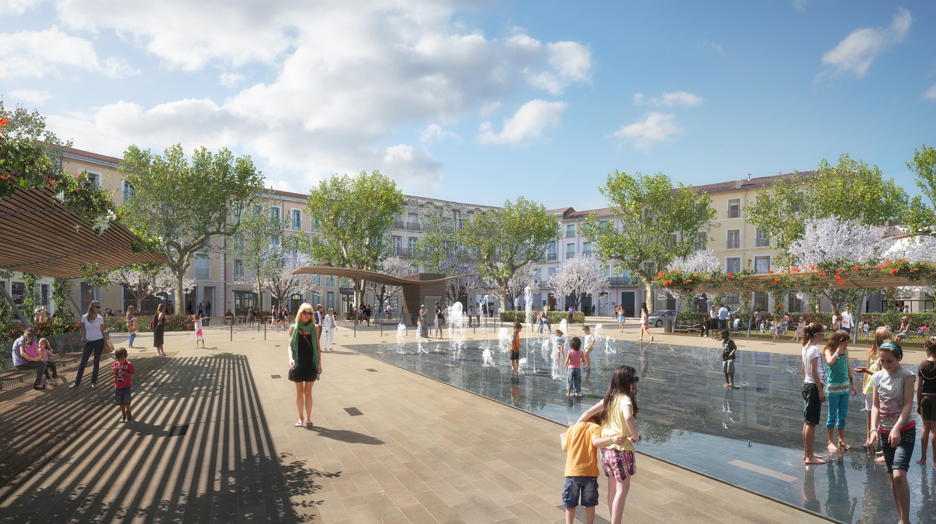 PENA-Place Jean Jaures Beziers-VUE BASSIN_FULL